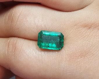 Natural No Oil Treated present Natural Emerald Pear Shape Fine Quality Emerald 13\u00d77 Zambian Emerald Cut Emerald Sale. EMERALD !