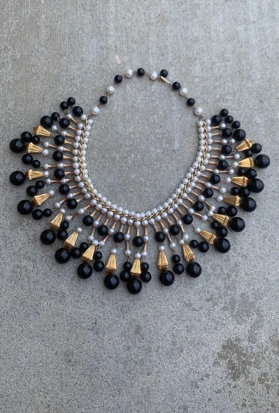 BREATHTAKING Vintage Festoon Necklace 1940s 1950s
