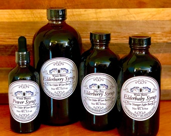 All Organic Elderberry Syrup Add Turmeric - Shipping Included