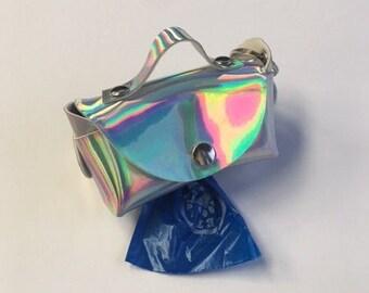Holographic Dog Waste Bag Holder