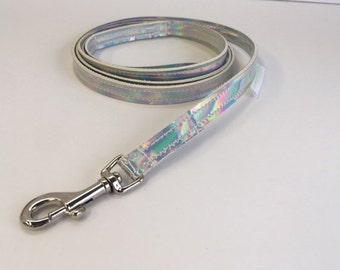 Holographic Dog Leash MADE IN USA