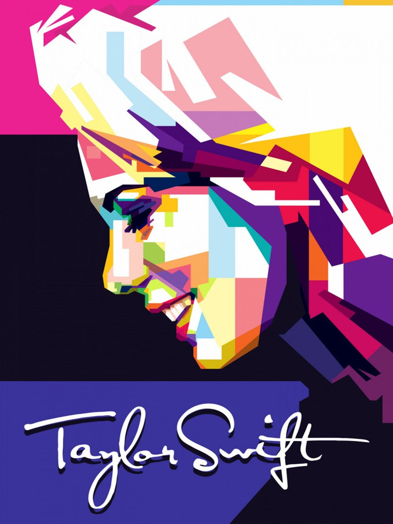 ART Taylor swift gloss poster 17 x 24 inches