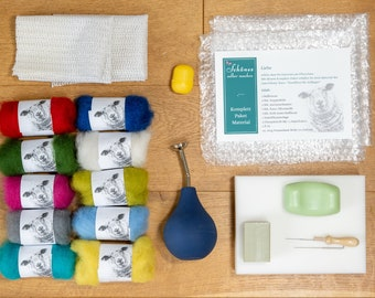 Felting Material Complete Package