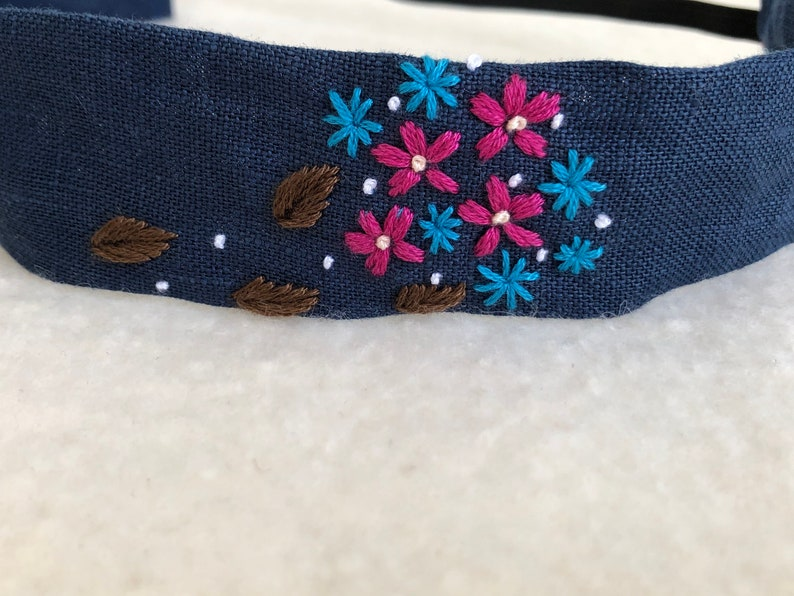 Fabric headband women adult headband