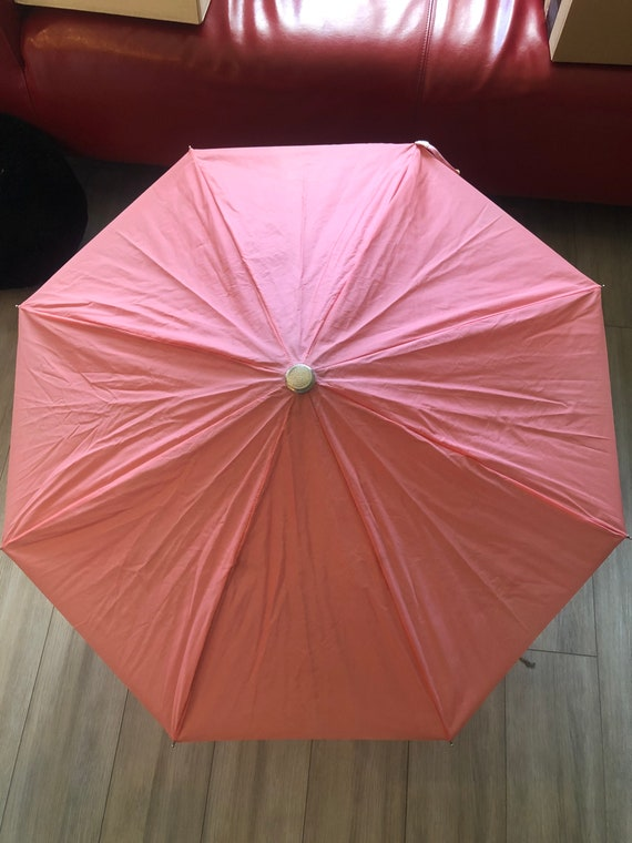 Vintage Pink Umbrella
