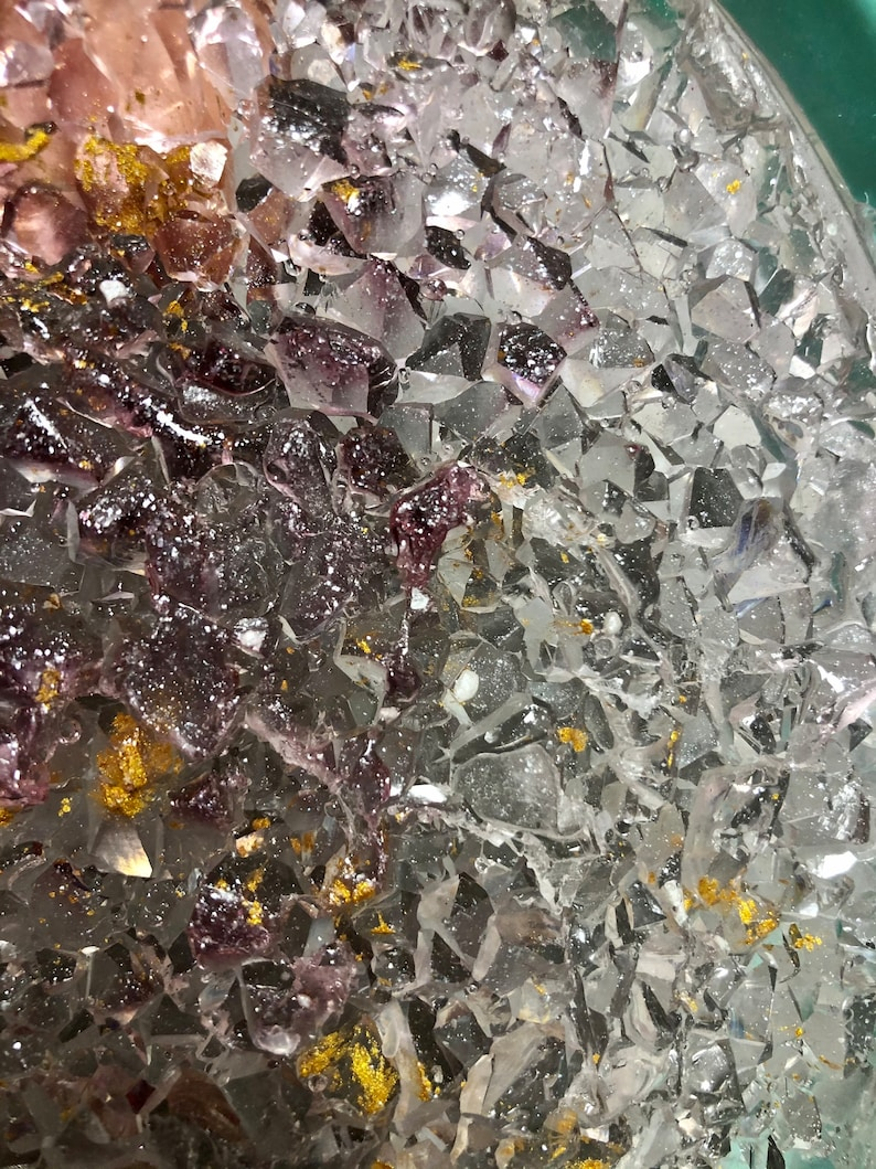 Amethyst crystals epoxy molds resin paintings blessing Big Diamonds Silicon mold Mold for Resin Epoxy Art natural stone