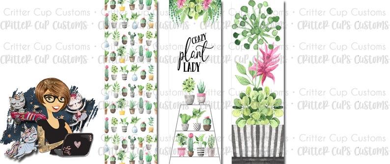 Plant Lady Pen Wrap File Set