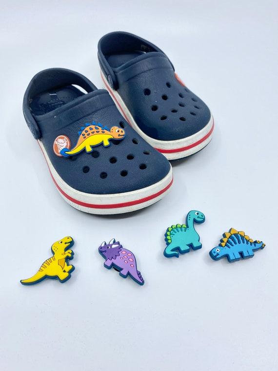 Different 5 set Dinosaurs Crocs Charms