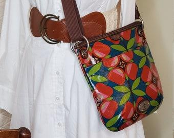 Vintage FOSSIL KEY-PER Colorful Crossbody handbag