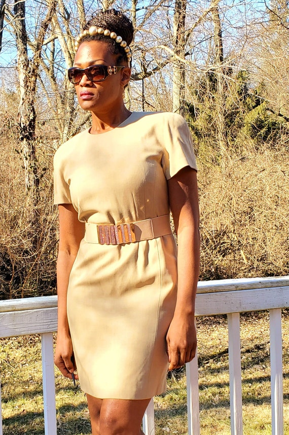 Vintage ESCADA by Margaretha Ley Sheath Dress