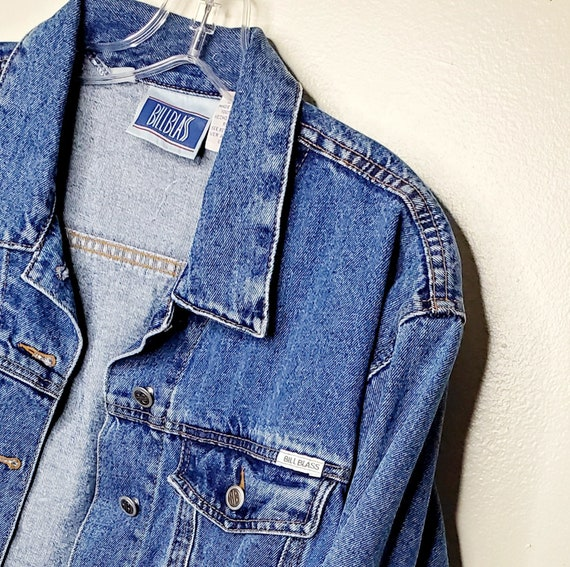Vintage Authentic Bill Blass Denim Jean Jacket