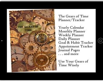 Digital Planner Tracker Hyperlinked for IPAD  Goodnotes Notability Xodo Unisex Calendar Planner Habit Tracker Goal Planner Appointment Log