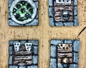 Scatter Tiles Trap Doors a Sewer Grate - Set of 4