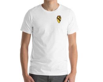 Kids T-Shirt Tops 1st Cavalry Division Vietnam Unisex Youths Short Sleeve T-Shirt