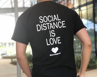 Brand new Social distancing T-shirt unisex