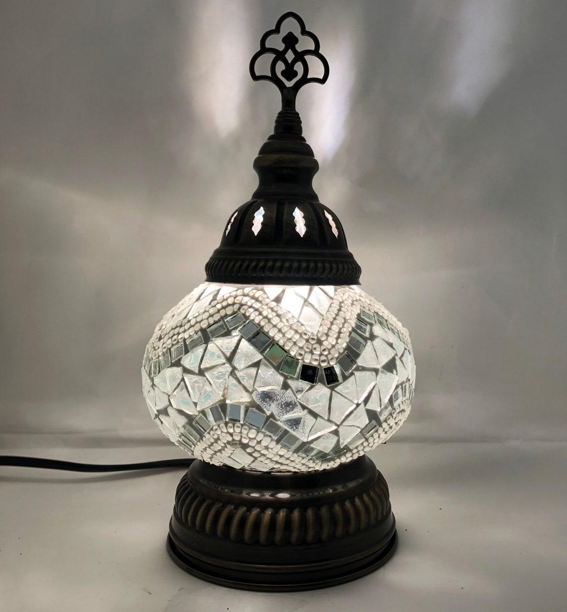 Turkish Handmade Mosaic Lamps - Eclairage