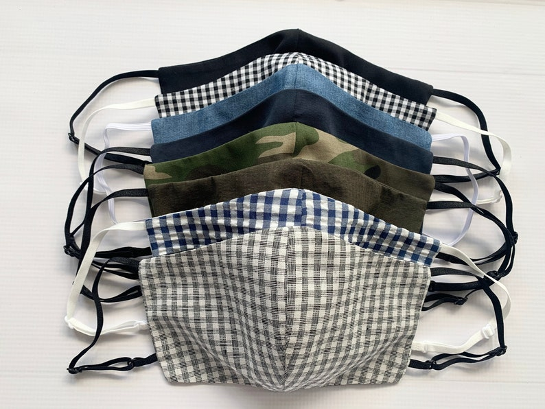 Mens Face Mask With Adjustable Straps One Size Fits All image 0