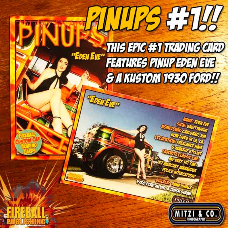 Fireball PINUPS TRADING CARD 1 image 0