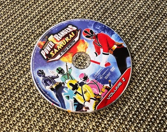 Power Rangers Samurai Volume 2: A New Enemy, Widescreen DVD, Disc Only W/Protective Case, Free Shipping!