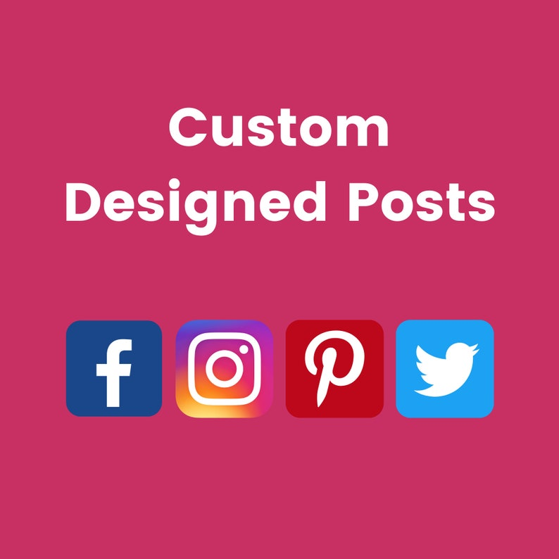 Customized Social Media Posts For Instagram Facebook image 0