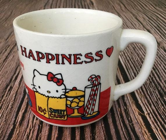 Kitty vintage coffee mug sweet candy