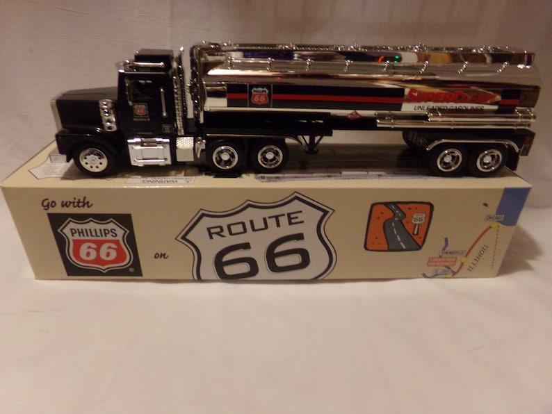 Phillips 66 Chrome Gasoline Tanker Truck Mint in Box. image 0