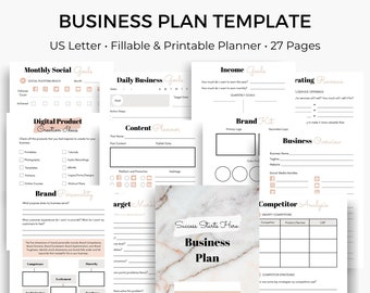 Business Plan Template Etsy