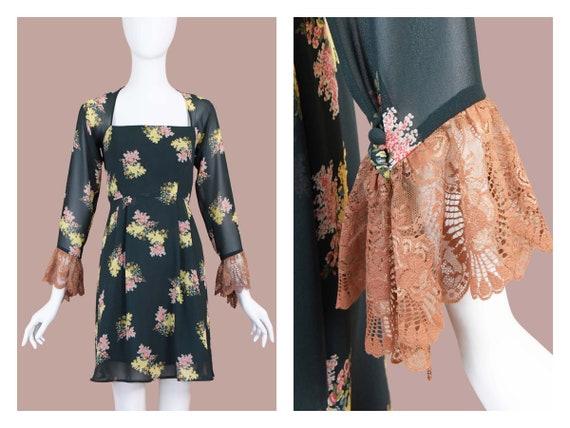 Lolita Lempicka Vintage Babydoll Floral Dress