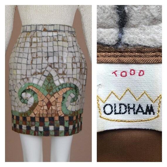 Todd Oldham Vintage Mosaic Skirt