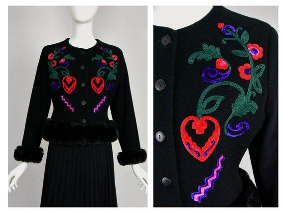 Byblos Vintage Cashmere Jacket