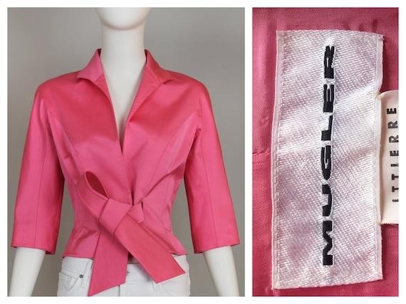 Thierry Mugler Bubblegum Pink Vintage Top