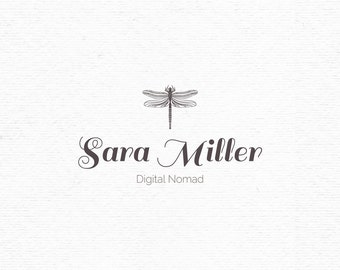 Dragonfly logo template