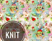 PRE ORDER STRETCH Knit Baby Yoda Christmas Star Wars Galaxys Edge Fabric 1 Yard 1/2 Yard Fat Quater