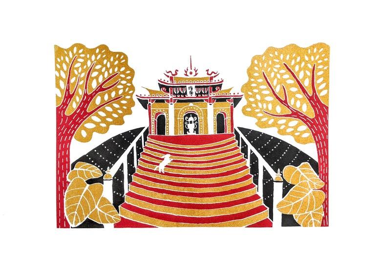 Taipei Zhinan Temple Print image 0