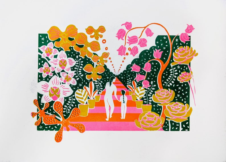 Taipei Jianguo Flower Market Print image 0