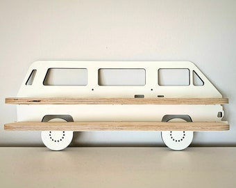 VW T3 Spice Rack for Bulli Lovers with OR Without 6x Spice Spreader - Gift Idea