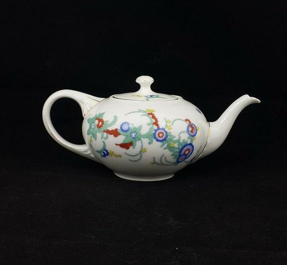 Rosenthal Flower Pattern Teapot