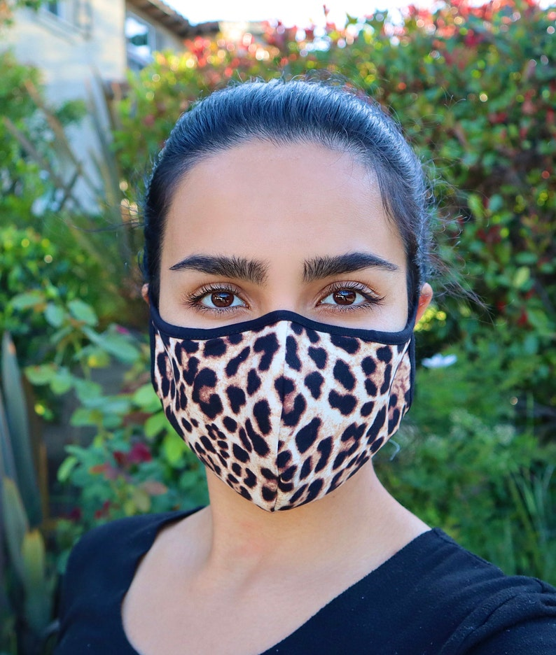Quality Face mask Made in USA, reusable Mask with nose wire & Filter pocket, Same day or next day Shipping photo
