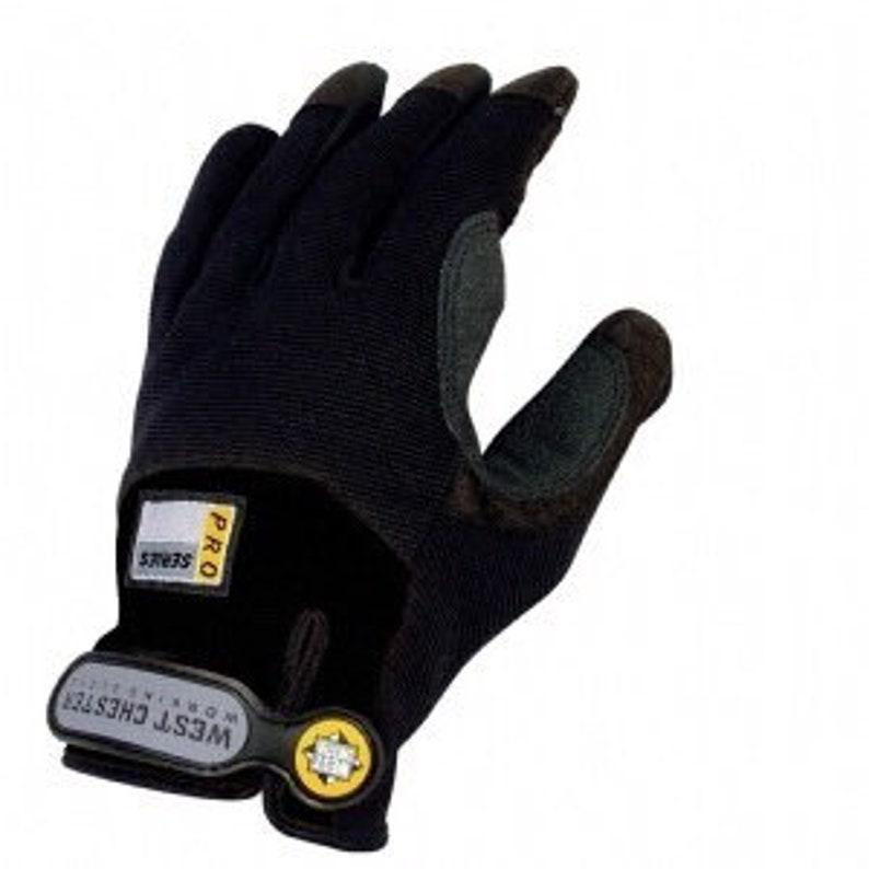 Pro Series Work Gloves Large West Chester JOB 1 Gloves Carpenter Gloves
