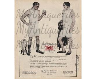 Setsnug Underwear Company Box Top Advertising Avalon Knitwear c 1906