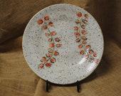 Handmade Decorative Ceramic Clay Plate or Catchall With Cute Baseball Theme Glaze | Handmade Gift for MLB Fans | Home Decor | Centerpiece