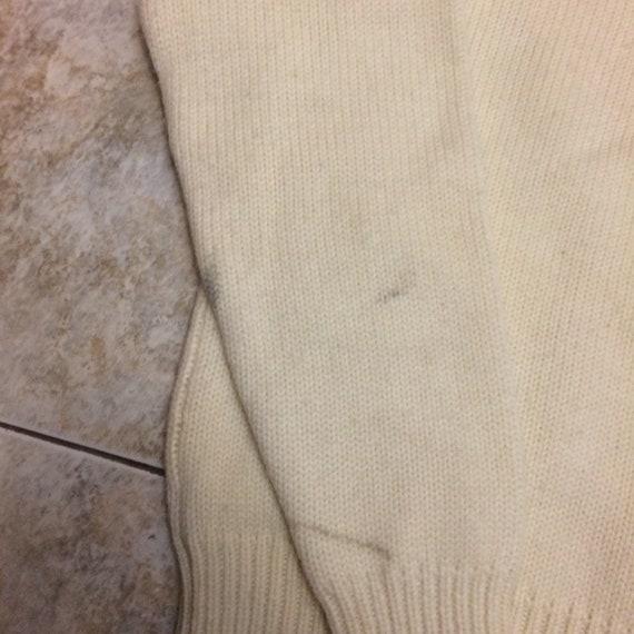 Vintage Polo Ralph Lauren 100% wool crest 1980s s… - image 8