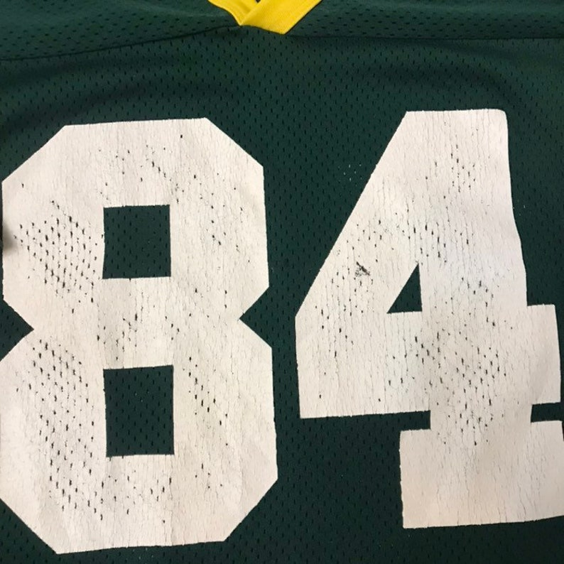Vintage Green Bay Packers football jersey size 2 xl logo 7