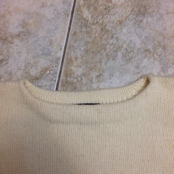 Vintage Polo Ralph Lauren 100% wool crest 1980s s… - image 9