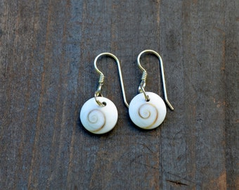 Sheva shell earrings
