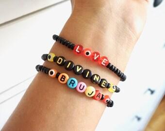 Evil Eye LOVE Bracelet - Handmade