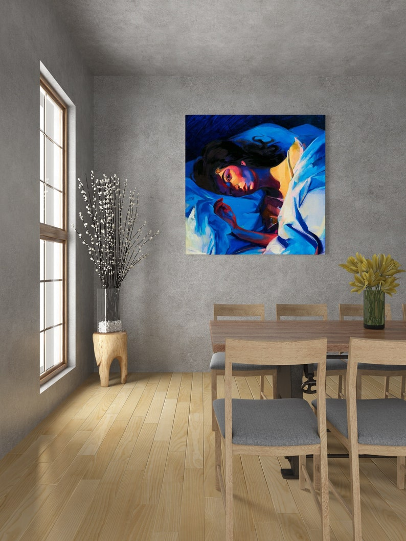 Lorde Melodrama Cover 2017 Music Album Cover canvas wall ...