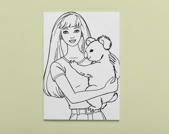 Barbie Coloring Book Pages - Coloring Home | 270x340
