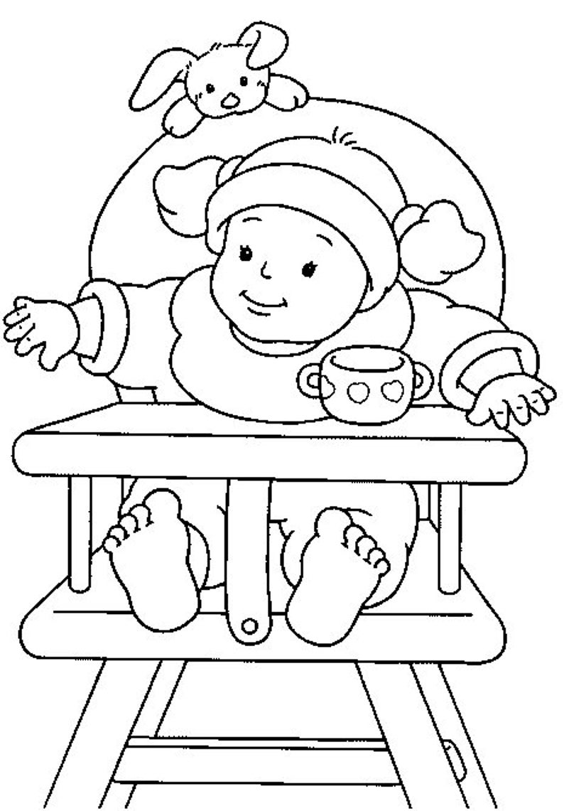 20 babymalvorlagen für kinder kinder malvorlagen  etsy