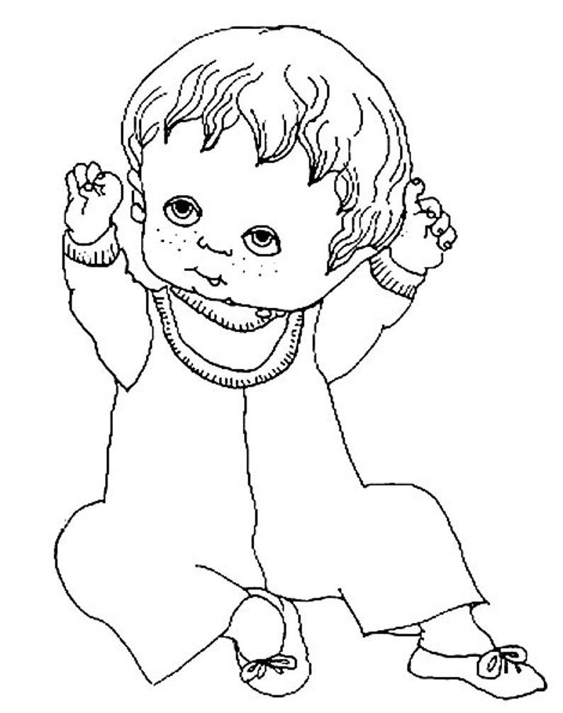 20 baby-malvorlagen für kinder kinder malvorlagen | etsy